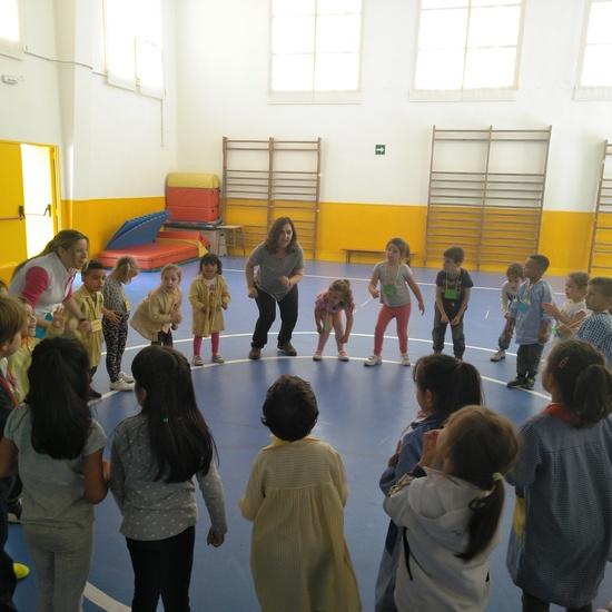 Jornadas Culturales. Musica y Movimiento. Infantil 4