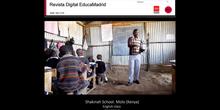 English class. Shakinah School. Molo (Kenya)