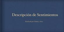 PRIMARIA- 6º - LENGUA- SENTIMIENTOS- AROA Y EMMA- FORMACIÓN