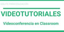 Meet en Classroom
