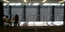 Pasillo de la Tate Gallery, Londres, Reino Unido