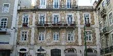 Fachadas de casas en el Barrio Alto, Lisboa, Portugal