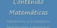 Introducción a la semejanza: ampliaciones y reducciones