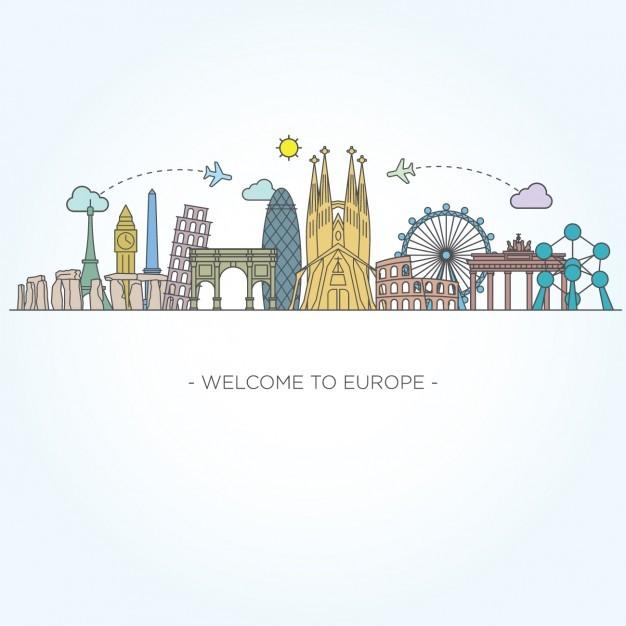 fotos edificios de Europa para pintura patio 10