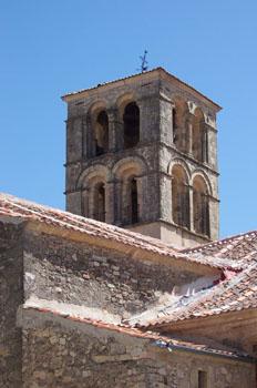 Torre de la Iglesia de San Juan, Pedraza, Segovia, Castilla y Le