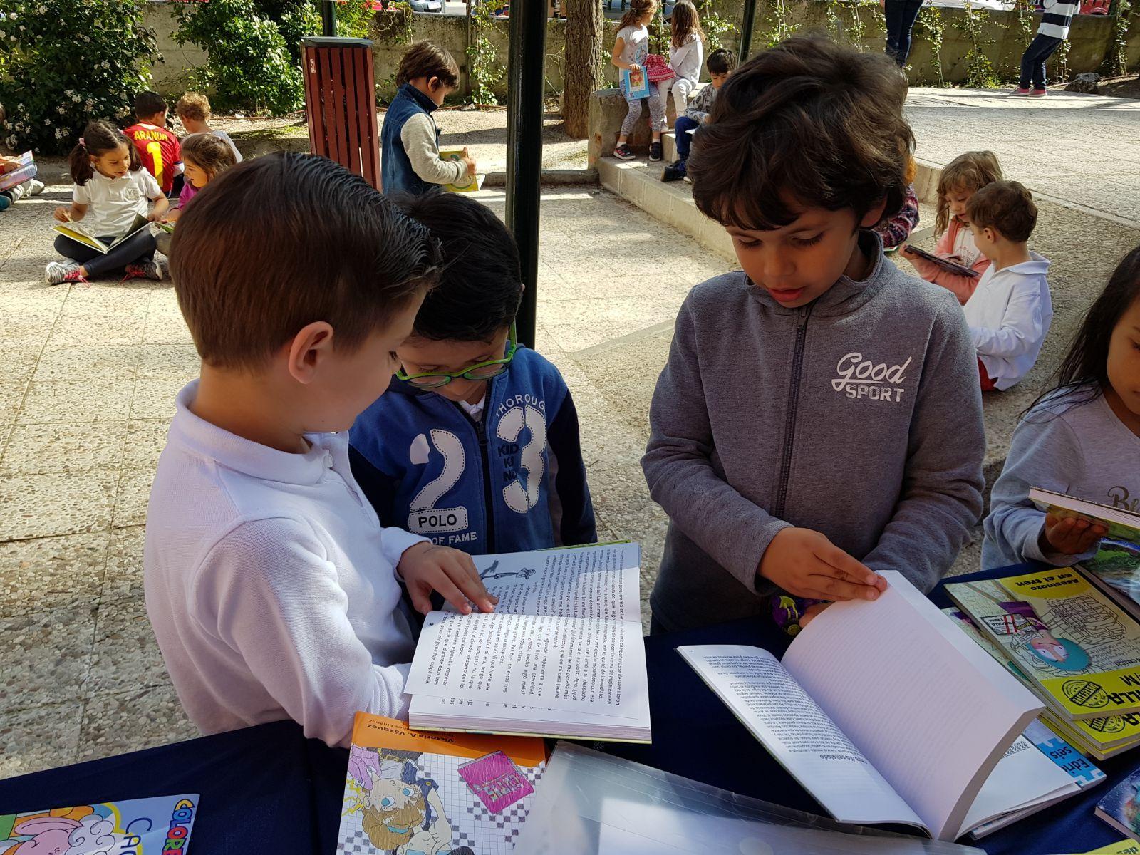Infantil 5 años y la semana del libro 13