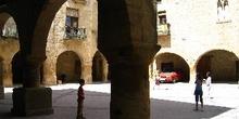 Plaza Mayor, Horta de Sant Joan, Tarragona