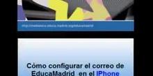 Configurar el correo de EducaMadrid en un IPhone