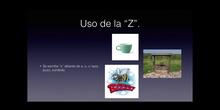 4º lengua Uso de la C y de la Z