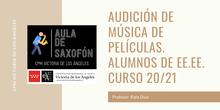 AUDICIÓN DE ALUMNOS DE SAXOFÓN DE ENSEÑANZAS ELEMENTALES