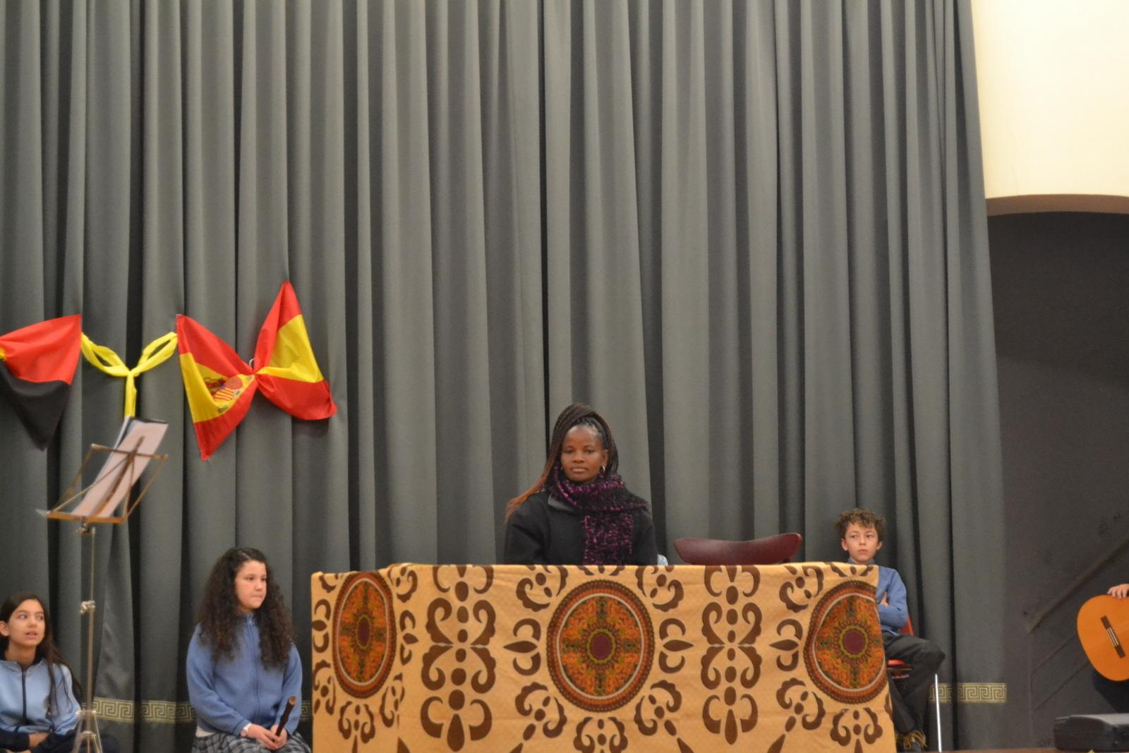 Bienvenida a Susan (profesora de Angola) 8