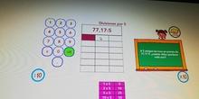 División ABN decimales. Dividendo mayor que divisor