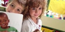 INFANTIL 4 AÑOS FIVE LITTLE MONKEYS. DRAMATIZACIÓN. ACTIVIDADES