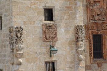 Escudo heráldico, Catedral de Mondoñedo, Lugo, Galicia