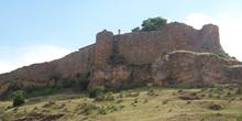 Lienzo de muralla, Castillo de Calatañazor, Calatañazor, Soria,