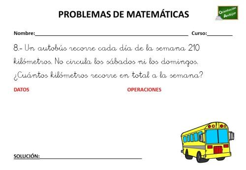PROBLEMA DE MATEMÁTICAS 27 DE ABRIL