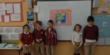 PRIMARIA 2º A - 2º A PRESENTS THE EATHER FORECAST- INGLÉS