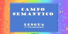Campo semántico - Lengua de 2º