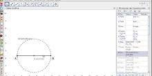 Rombo a partir del lado y radio de circunferencia inscrita