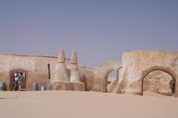 Set de rodaje, Desierto de Oung Djmel, Túnez
