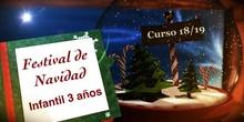 Festival de Navidad 2018. Ed. Infantil 3 años
