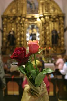 Flores para Santa Rita de Casia, Santiago de Compostela, La Coru