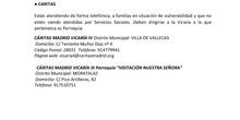 Recursos urgentes para familias Moratalaz-Villa de Vallecasb
