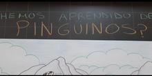mural pingüinos