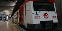 Lazo negro en la cabecera de un tren
