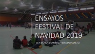 Ensayos Festival Navidad 2019