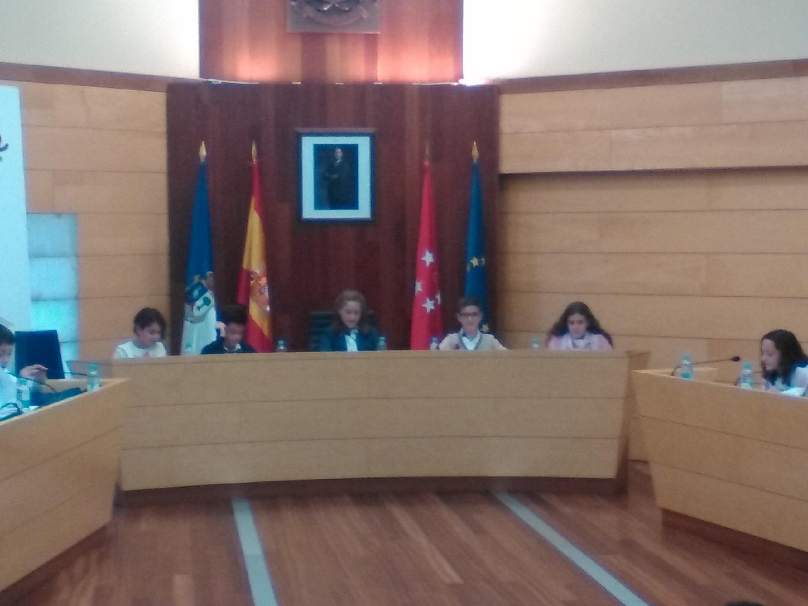 2016_11_21_Pleno Infantil en el Ayuntamiento de Las Rozas_Sexto 2