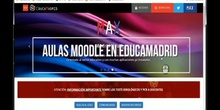 Aula Virtual I - Aulas Moodle en EducaMadrid
