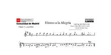 Himno de la alegría. Flautas y carrillones