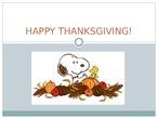 thanksgiving Molly Moeschler