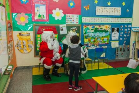 Los RRMM y Papá Noel en INF 4A 5