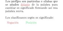 PRIMARIA - 5º - LOS PREFIJOS - LENGUA - P. T. - FORMACIÓN