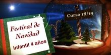 Festival de Navidad 2018. Ed. Infantil 4 años
