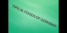 PRIMARIA - 6º - SOCIAL SCIENCE - FOOD IN GERMANY - FORMACIÓN