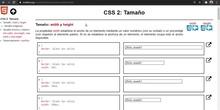 CSS Tamaño
