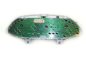 Cuadro de instrumentos. Circuito impreso lado conector