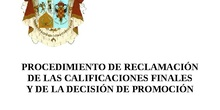 Procedimiento de reclamación a calificaciones IES Cardenal Cisneros