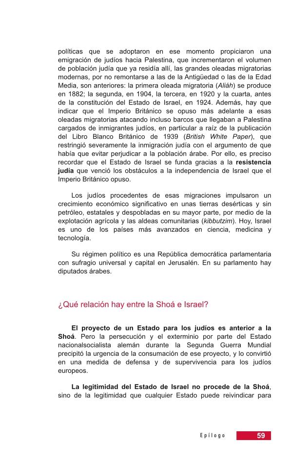 Página 59 de la Guía Didáctica de la Shoá