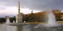 Fuente en Parque Arganzuela, Madrid