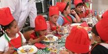 Visita del chef Sergio Fernández - Nutrifriends en el Comedor 2
