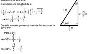 Trigonometría: 23.Razones 30º y 60º