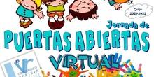 """PUERTAS ABIERTAS VIRTUALES """"CEIP VENTURA RODRÍGUEZ"""""""