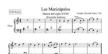 Ricardo Sanz y Tur: Las Marizápalos (minué para Escuela Bolera)