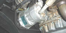 Compresor de aire acondicionado de cilindrada variable