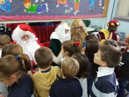 Los RRMM  Papá Noel en 1º (1) 6