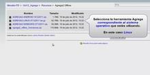 Agrega Offline: Descargar en Linux